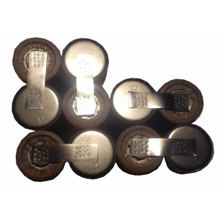 Metabo 12V sestava pro repase baterie 30066000, 31724000