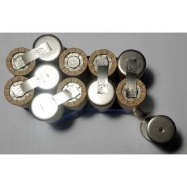 Dewalt de9092 14,4v NiCd sestava pro repase baterie
