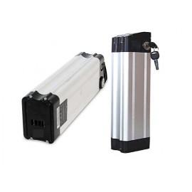 Baterie Li-ion 36V do elektrokol (svislá - silver fish)
