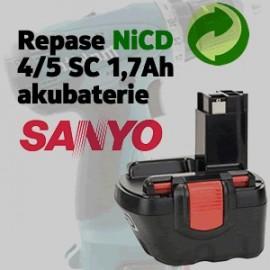 Repase NiCd 4/5SC baterie akunářadí(Sanyo)