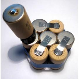 Bosh 9,6V 4/5Cs sestava pro repase baterie