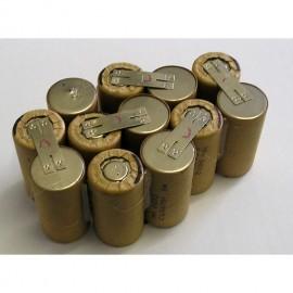 AEG M1430 NiMH 14,4V sestava pro repase baterie
